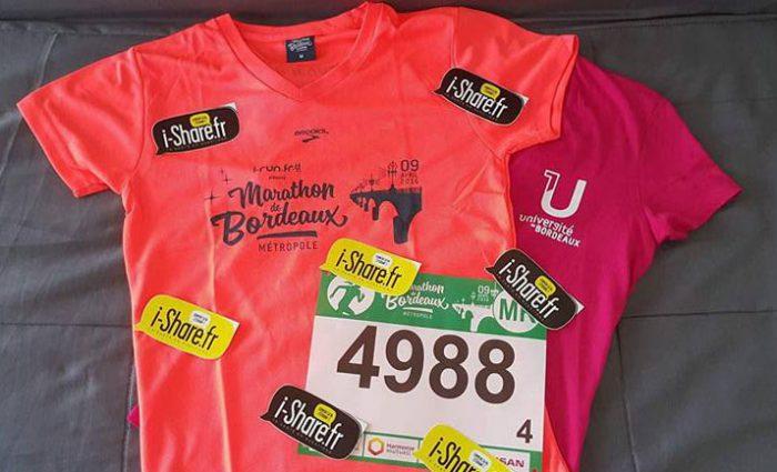 i-Share marathon de Bordeaux 2016