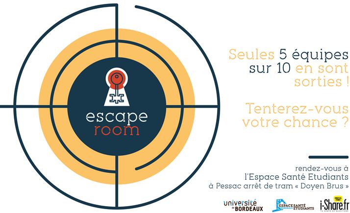 Escape Room Santé étude i-Share