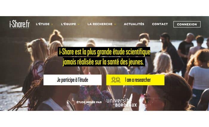 Le site i-Share change de visage