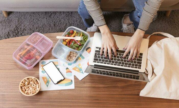 Visuel d'illustration de l'article Alimentation et télétravail : comment bien gérer ?
